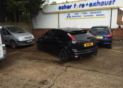 Black Ford Focus ST