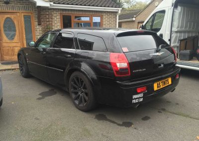 Chrysler 300C Estate Black 2007 Window Tinting