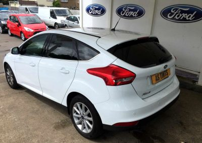 FORD FOCUS MK3 WHITE