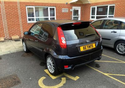 FORD FOCUS MK5 BLACK
