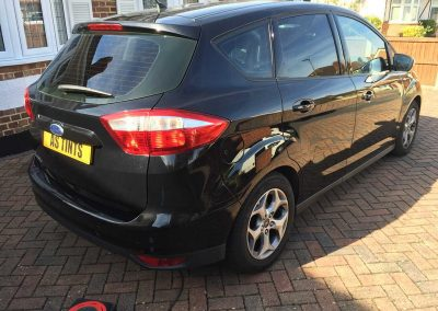 Ford C Max Black 2014 Window Tinting