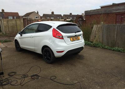 Ford Fiesta Tinting