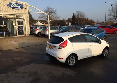 Ford Fiesta Window Tinting