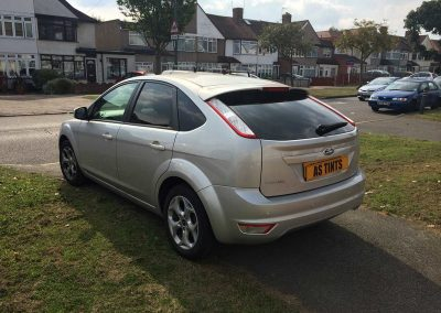Ford Focus 2007 Silver