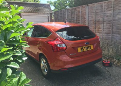 Ford Focus Oange 2011 Window Tinting