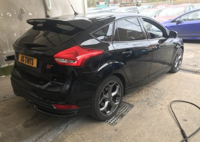 Ford Focus ST Black window_tinting_surrey