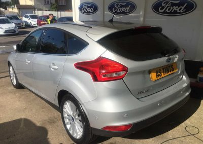 Ford Focus Silver 2015 Window Tinting
