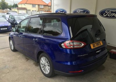Ford Galaxy Blue 2015 Window Tinting