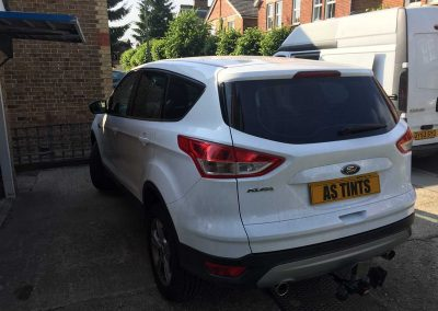 Ford Kuga White 2015 Window Tinting