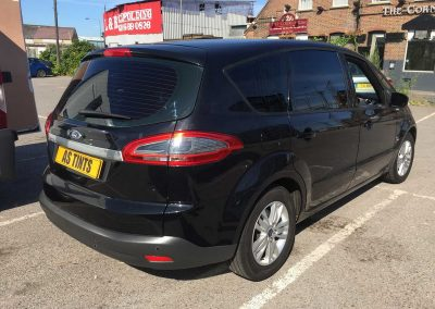 Ford S Max Black 2013 Window Tinting