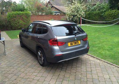 Grey BMW X1