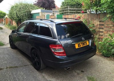 Grey Mercedes C Class Estate