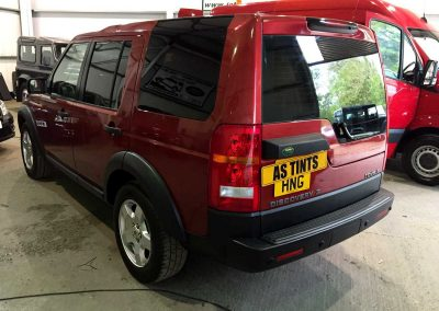 LAND ROVER DISCOVERY 3 RED