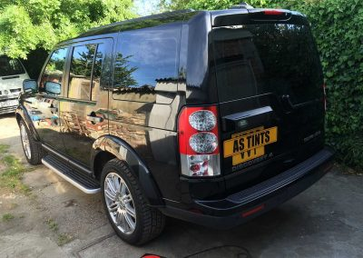 Land Rover Disco 4 Black 2015 Window Tinting
