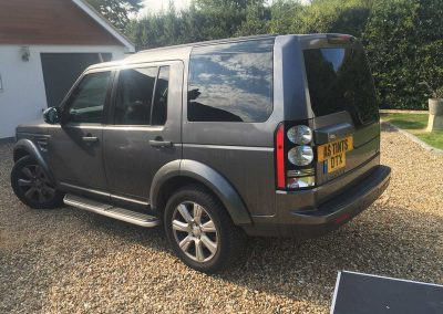 Land Rover Disco 4 Grey 2014 Window Tinting