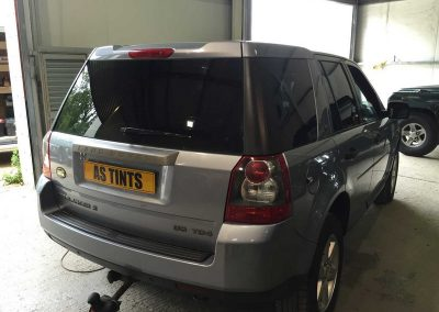 Land Rover Freelander 2 Blue 2011 Window Tinting