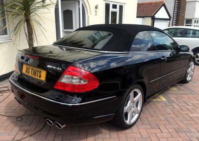 MERCEDES BENZ CLK BLACK