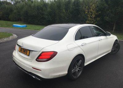 Mercedes Benz E Class window_tinting_surrey