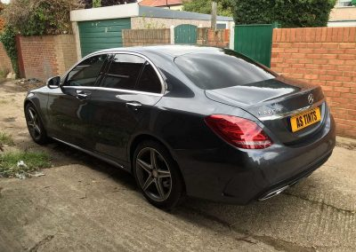Mercedes Benz Grey 2014 Window Tinting