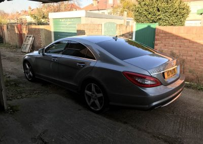 Mercedes CLS window_tinting_surrey