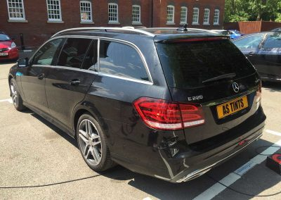 Mercedes E Class Estate Black 2015 Window Tinting