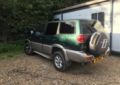 Nissan Terrano 2 Green 2001 Window Tinting