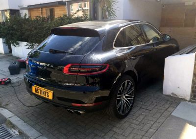 Porsche Macan Black 2015 Window Tinting