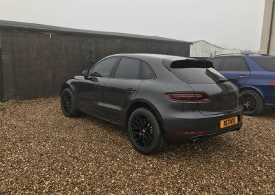 Porsche Macan window_tinting_surrey