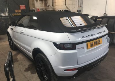 Range Rover Evoque Convertible 2 window_tinting_surrey