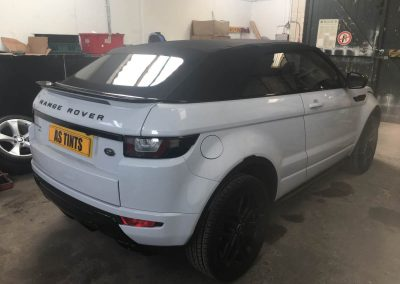 Range Rover Evoque Convertible window_tinting_surrey