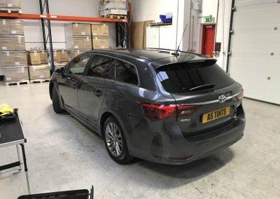 Toyota Avensis Estate window_tinting_surrey