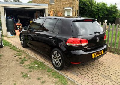 VW GOLF BLACK