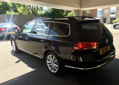 VW Passat Estate Black 2014 Window Tinting