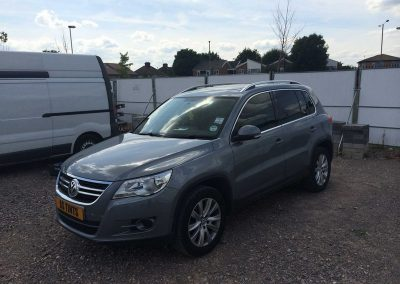 VW Tiguan Grey