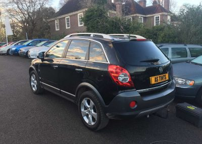 Vauxhall Antara window tinting