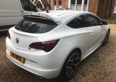 Vauxhall Astra VXR 2 window_tinting_surrey