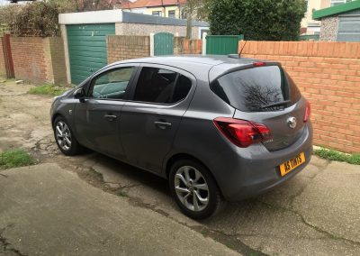 Vauxhall Corsa Tints aug_2016
