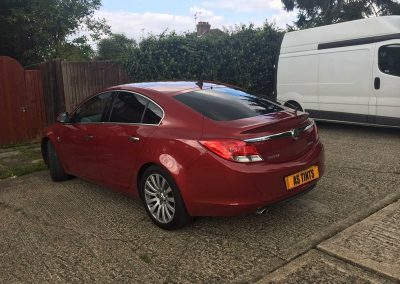 Vauxhall Insignia Red