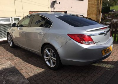 Vauxhall Insignia Silver 2011 Window Tinting