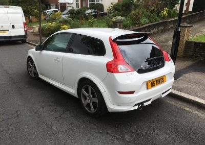 Volvo C30 Tints aug_2016