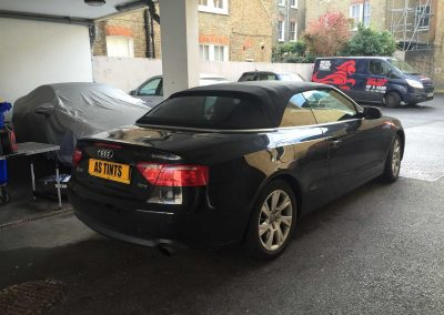 window_tinting Audi A5 Convertiable