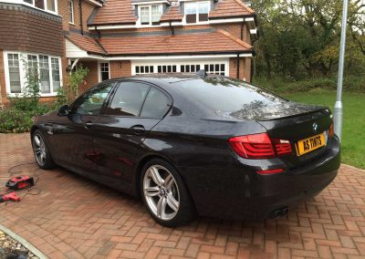 window_tinting BMW 5 Series F10