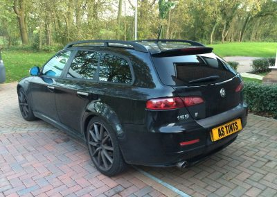 window_tinting Black Alfa Romeo 159