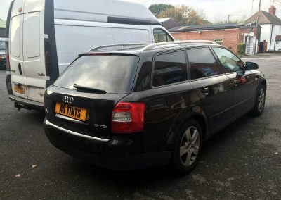 window_tinting Black Audi A4 Avant