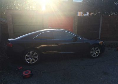 window_tinting Black Audi A5 Coupe 2