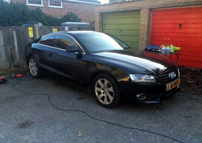 window_tinting Black Audi A5 Coupe