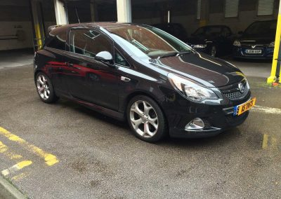 window_tinting Black Corsa VXR 2