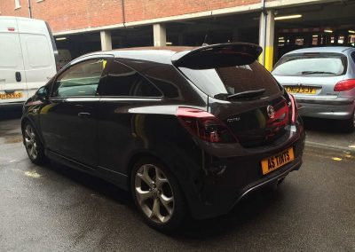 window_tinting Black Corsa VXR
