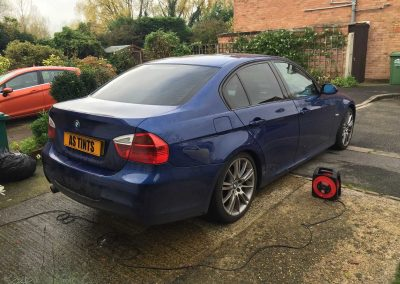 window_tinting Blue 3 Series Saloon