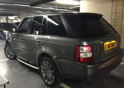window_tinting Grey Range Rover Sport